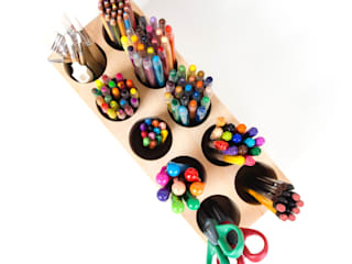색연필꽂이 (Colored Pen Holder) by Orange Wood