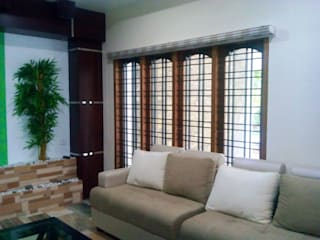 Pleated Zebra Blinds:   by Clinque window blind systems