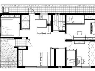 심플한 화이트 인테리어와 30평형 홈스타일링 : 퍼스트애비뉴의 현대 ,모던
