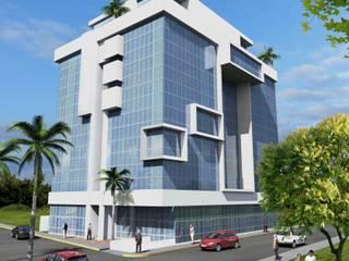 Minimalistyczne domy od Milla Arquitectos S.A. de C.V. Minimalistyczny