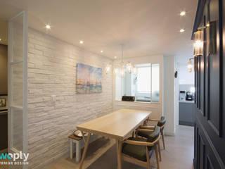 Dining room by 디자인투플라이