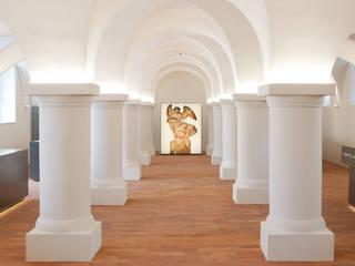 Begleitausstellung, Kapitellbeleuchtung:  Museen von Konzeptlicht lighting solutios GmbH
