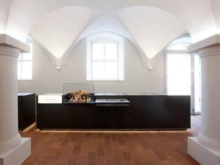 Begleitausstellung, Tresen:  Museen von Konzeptlicht lighting solutios GmbH