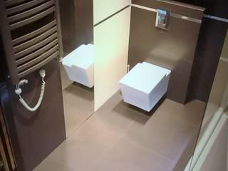 Spokojny apartament na Pańskiej w Warszawie Nowoczesna łazienka od Project Art Joanna Grudzińska-Lipowska Nowoczesny