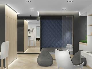 Мужская студия Спальня в стиле минимализм от Архитектурная мастерская 'SOWA' Минимализм