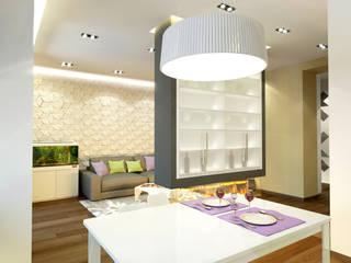 Квартира для коллекционеров Кухни в эклектичном стиле от Архитектурная мастерская 'SOWA' Эклектичный