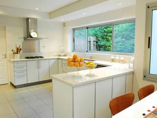 JUNOR ARQUITECTOS Modern style kitchen