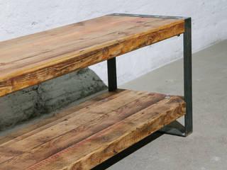 Upsideboard: industriell  von BjørnKarlsson Furniture,Industrial Holz Holznachbildung