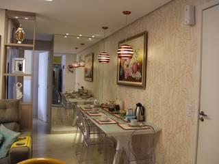 Residência Goiânia/GO Salas de jantar modernas por Donakaza Moderno