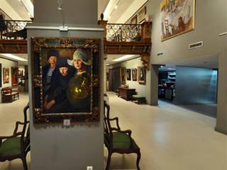 Ruang Keluarga Gaya Eklektik Oleh Jacobo Lladó Estudio de Arquitectura Eklektik