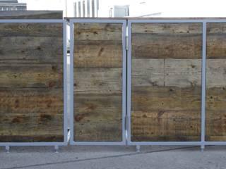 Reclaimed timber Market stall unit Moderne Bars & Clubs von Kentholz Modern