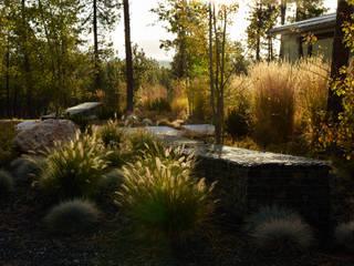 A wild garden in Washington State USA:  Garden by Bowles & Wyer