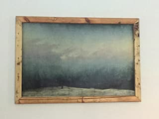 Reclaimed wooden picture frame:   von Kentholz