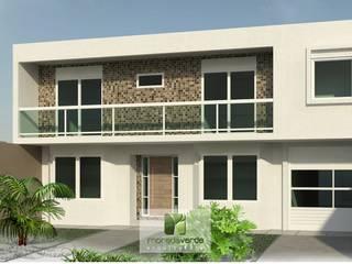 Maisons de style  par Moradaverde Arquitetura, Moderne