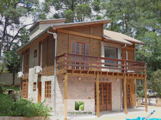 Moradaverde Arquitetura: kırsal tarz tarz Evler