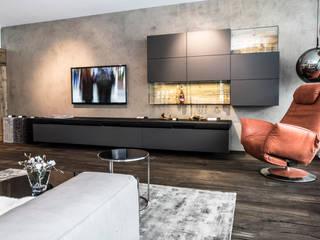 Schauraum Einrichtungsstudio IBOD Wand & Boden Moderne Wohnzimmer