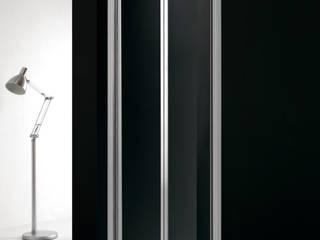 Mampara de baño 2 puertas plegables:  de estilo  de MAMPARASYMAS ONLINE, SLU