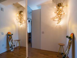 الممر والمدخل تنفيذ Casa100 Arquitetura