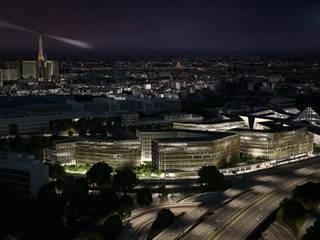 QU4DRANS, la place verte dans Paris:  de style  par PLATFORM MOTION