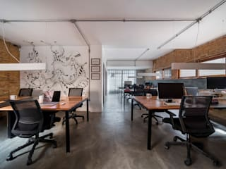 Casa100 Arquitetura Industrial style commercial spaces