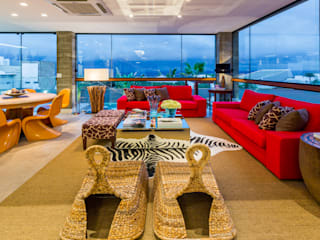 IE Arquitetura + Interiores Living room