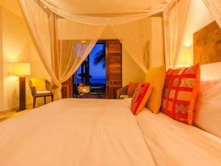 Casa Tortugas Dormitorios tropicales de BR ARQUITECTOS Tropical
