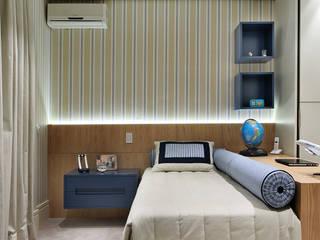 Modern nursery/kids room by BRENO SANTIAGO ARQUITETURA E INTERIORES Modern