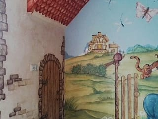 Абрикос Classic style nursery/kids room