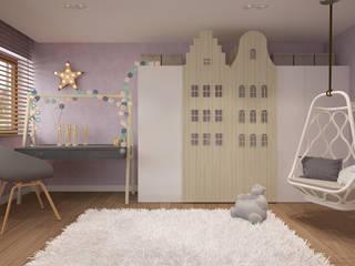 Dom w Puławach: styl , w kategorii Pokój dziecięcy zaprojektowany przez FAMM DESIGN
