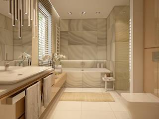 Baños de estilo  por FAMM DESIGN