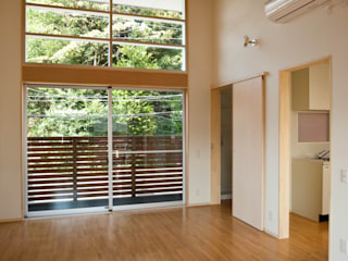一級建築士事務所 本間義章建築設計事務所 모던스타일 거실