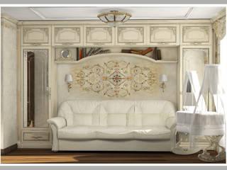 Спальня для молодой семьи Вариант 1 Вид 2: Спальни в . Автор – Рязанова Галина
