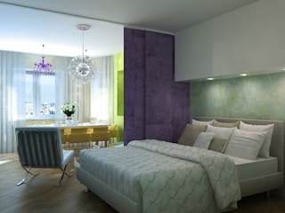Classic style bedroom by Design studio of Stanislav Orekhov. ARCHITECTURE / INTERIOR DESIGN / VISUALIZATION. Classic