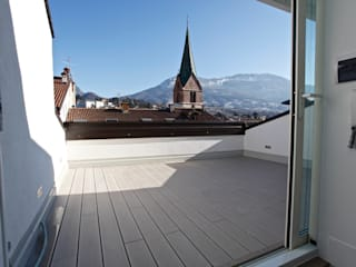 Mangodesign Balkon, Beranda & Teras Modern