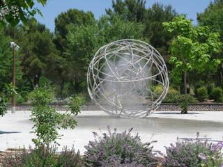 Génèse: Jardin de style  par Atelier Art et Eau Création