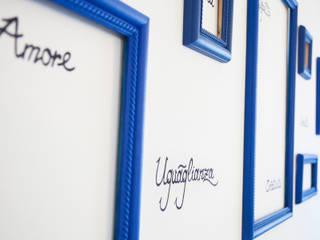 La casa dei miei sogni: Pareti in stile  di Alessandro Corina Interior Designer