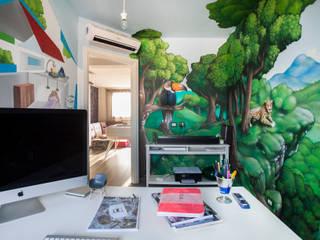 Ruang Studi/Kantor Gaya Mediteran Oleh Alessandro Corina Interior Designer Mediteran