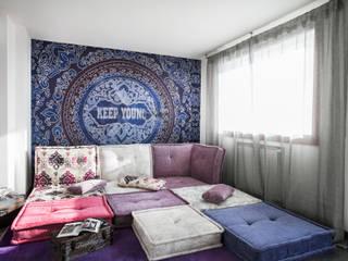 Salas de estilo mediterraneo de Alessandro Corina Interior Designer Mediterráneo
