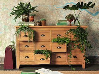 Oakland Multi Drawer Sideboard Country style living room by The Cotswold Company Country Wood Wood effect