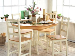 Dining Room The Cotswold Company Esszimmer im Landhausstil Holz