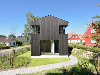 Giebelansicht Moderne Häuser von Möhring Architekten Modern