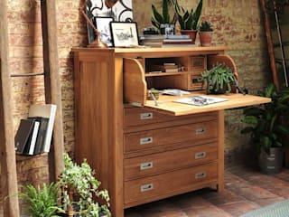 Office:  Study/office by The Cotswold Company, Country