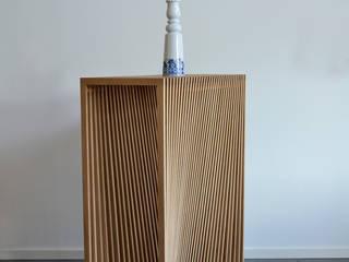 Lattenmeubel van meubelmakerij mertens Minimalistisch