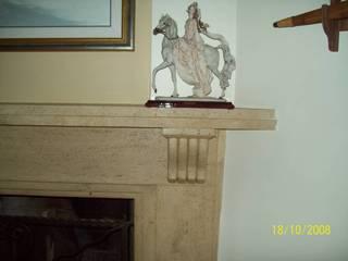Ege Mermer Granit Sala de estarLareiras e acessórios