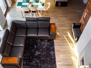 COCO Pracownia projektowania wnętrz Salon moderne