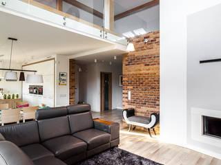 COCO Pracownia projektowania wnętrz Salones de estilo moderno