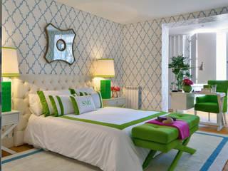 Phòng ngủ phong cách hiện đại bởi Prego Sem Estopa by Ana Cordeiro Hiện đại