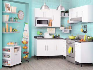 Idea Interior CocinaAlmacenamiento y despensa Blanco