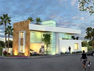 Milla Arquitectos S.A. de C.V. 房子 White