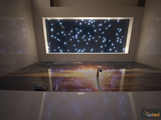 Gwieździste niebo - Starry Sky od SOLED Projekty i Dekoracje Świetlne Jacek Solka Nowoczesny